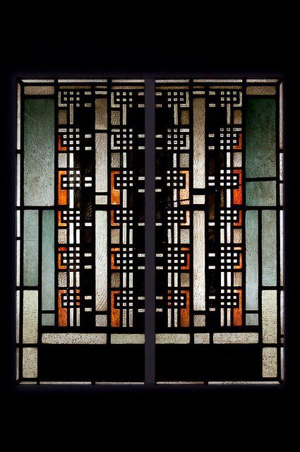 Johan Thorn Prikker (1868-1932) - Gerasterde strepen, oranje, 1924-1925 by de_buurman, via Flickr
