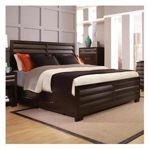 Tangerine King Bed In Sable Nebraska Furniture Mart Furniture