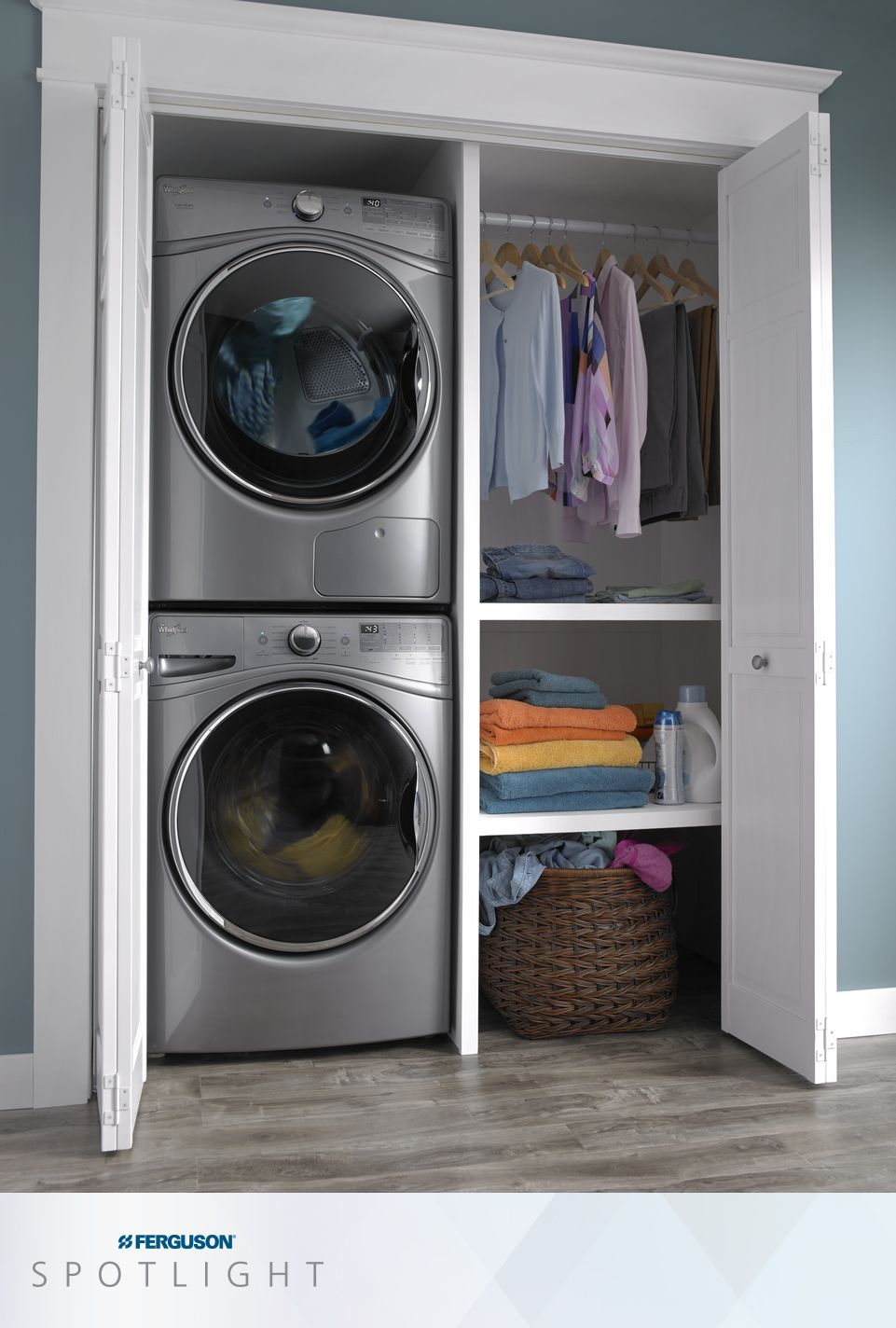 A Shallower Depth On Whirlpool Hybridcare Laundry Also Provides