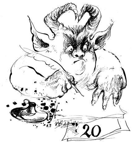 from the screwtape letters illustrated this humorous dialog between an elder demon writing to