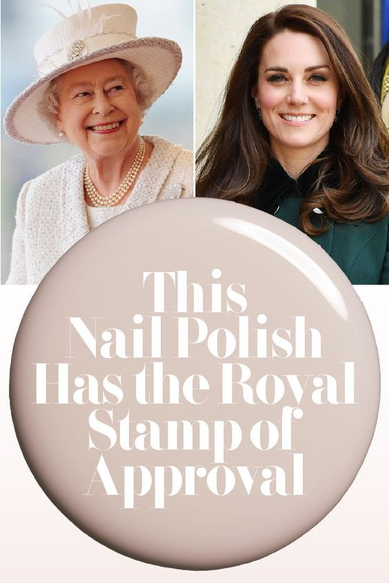 Katemiddleton And Queenelizabeth Are Bbsessed With This 9 Nail Polish Nailpolish Royals Manicure