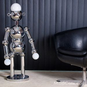 Daily Limit Exceeded Robot Lamp Lamp Chrome