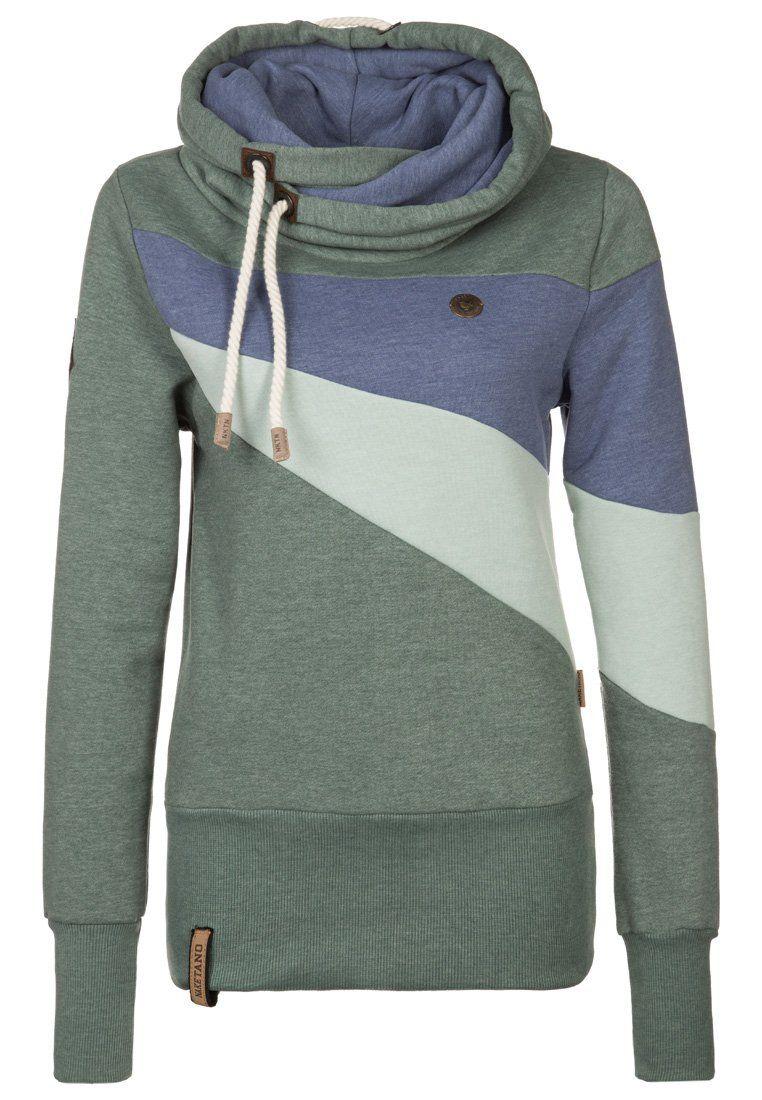 Naketano - WILLI II - Hoodie - green   i would wear that   Pinterest ... 55efdad071