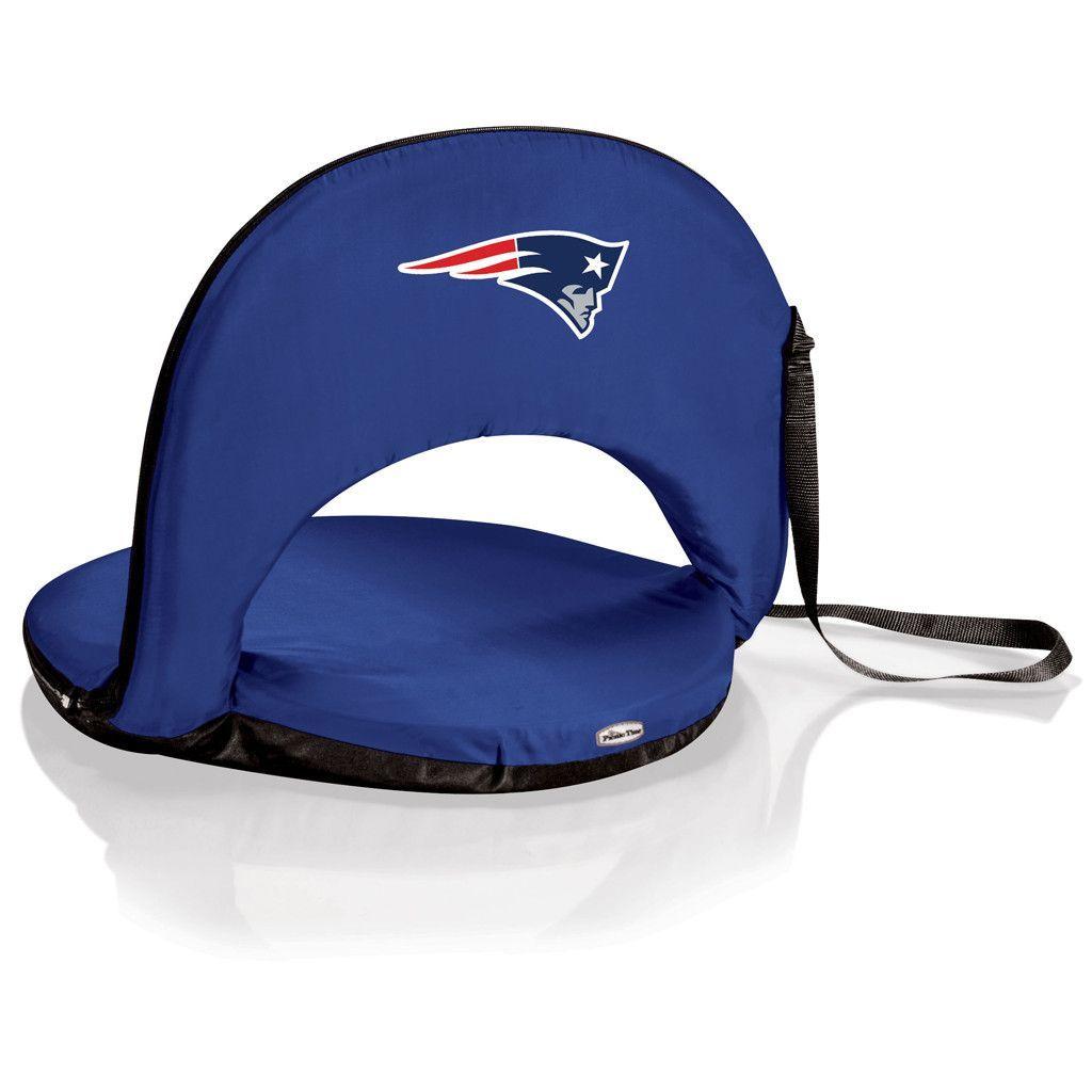 New England Patriots Oniva Portable Recliner Seat