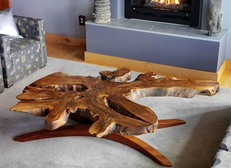 Tree Root Table Http://www.modernorganicfurniture.com/#!products