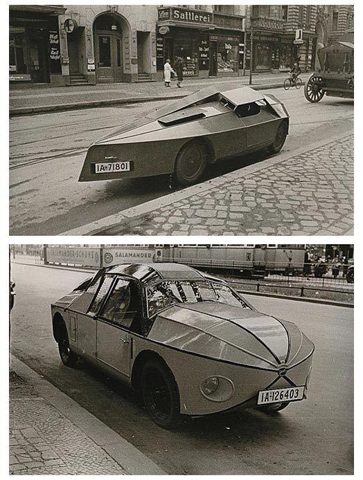 Zeiner Kleinwagens, Amphibious Auto, Vienna, c. 1922.