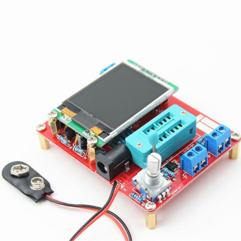 Hiland DIY Multifunction Transistor Tester Kit For LCR ESR PWM Signal Generator