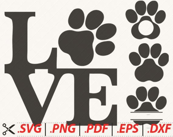 Download Dog Paw SVG Cat Paw SVG Animal Paw SVG Animal Print svg ...
