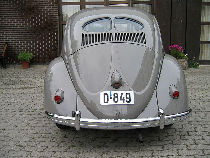 """1949 """"Split Back Window"""" Volkswagen Beetle"""