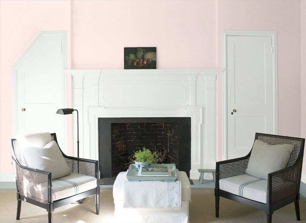 Benjamin Moore S Pink Swirl For The Room