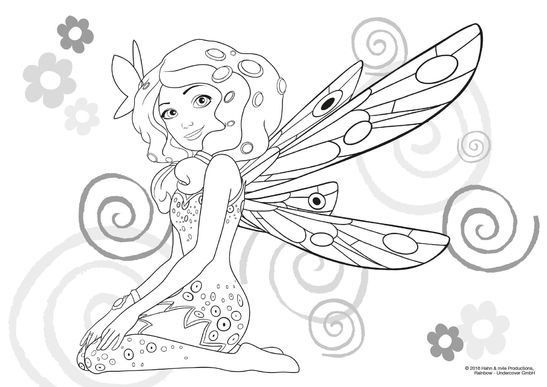Mia And Me Ausmalbilder Ausdrucken : Pin By Marjolaine Grange On Coloriage Mia Et Moi Pinterest