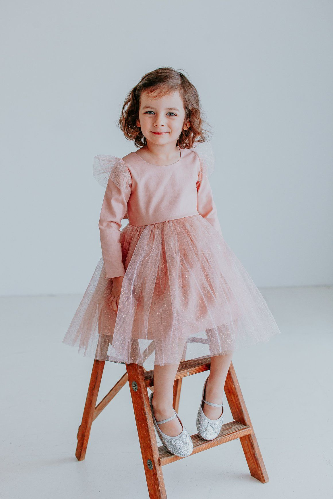 Giselle Dress - twirly pink tulle dress, the cutest party dress for girls, only from cuteheads.com