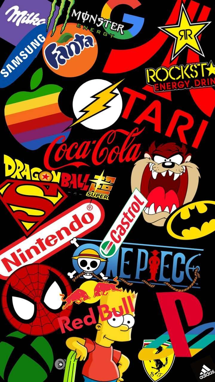 Best Logos Pop art wallpaper, Iphone background