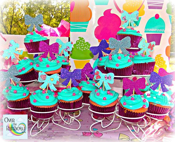 Jojo Siwa Inspired Party Centerpieces Set Of 4 In 2019