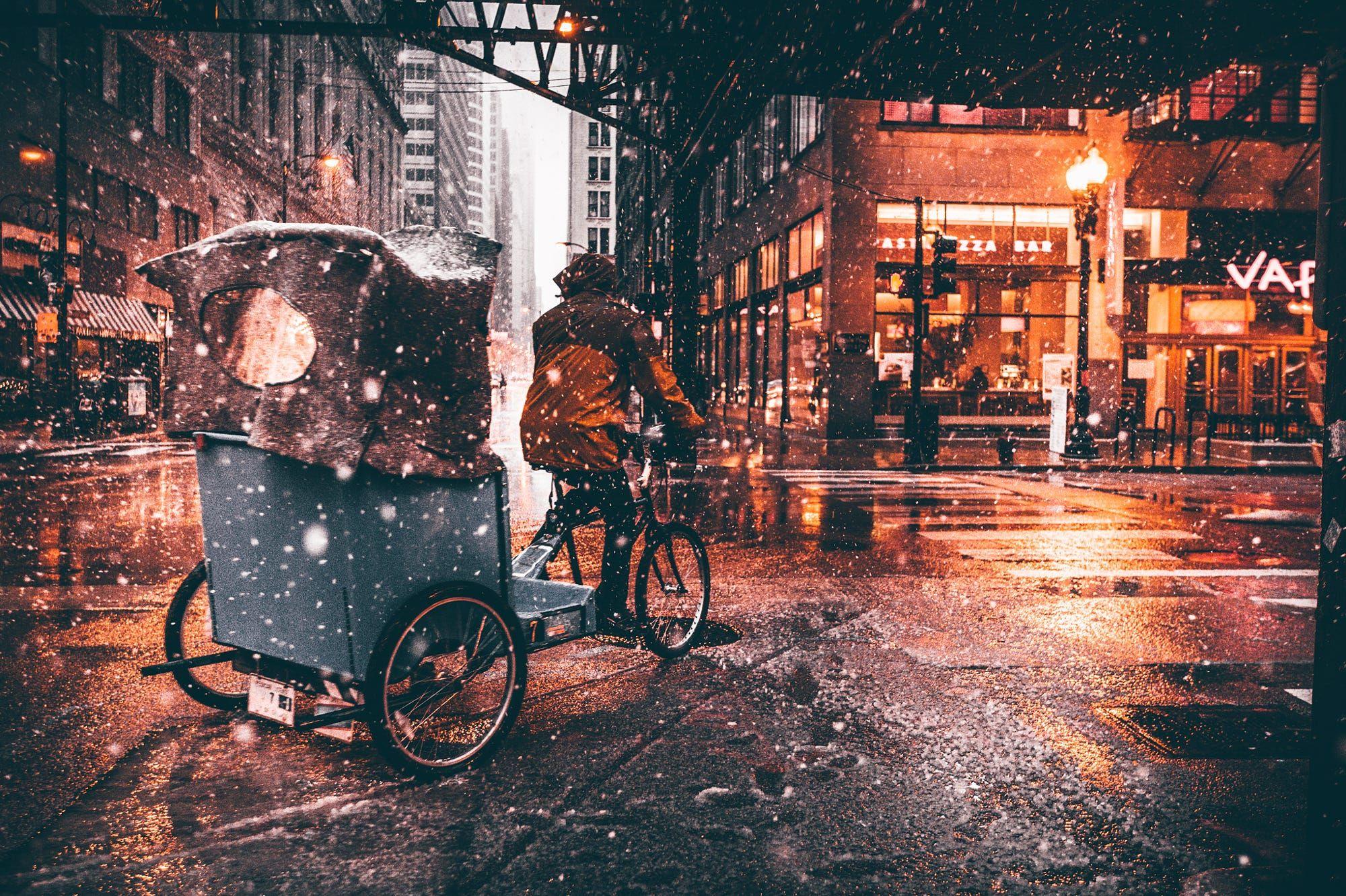 Snowy Chicago Streets Snowy Chicago Streets By Neal Kumar