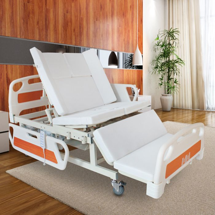 Hospital Equipment Height Adjustable Automatic Electric Paralysis Patient Bed Adjustable Beds Hospital Design Hospital Bed
