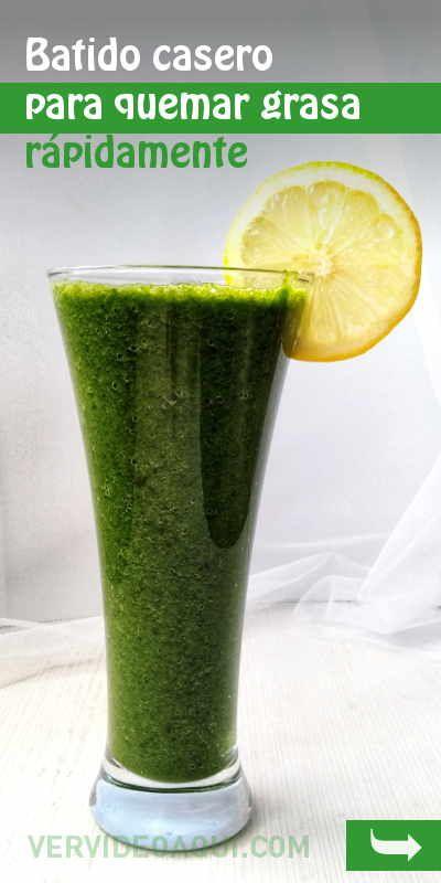 Scapă de grăsime cu un pahar de smoothie verde