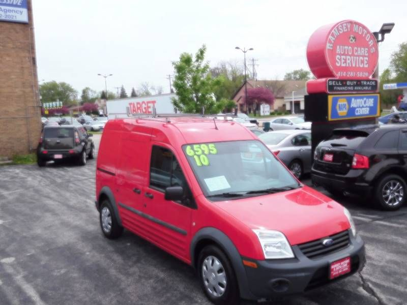 This 2010 Ford Transit Connect Cargo Van Xl Is Listed On