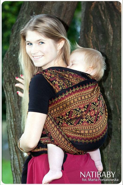 Natibaby Merezhka Agate (Linen Blend)   Marsupial Mamas, LLC