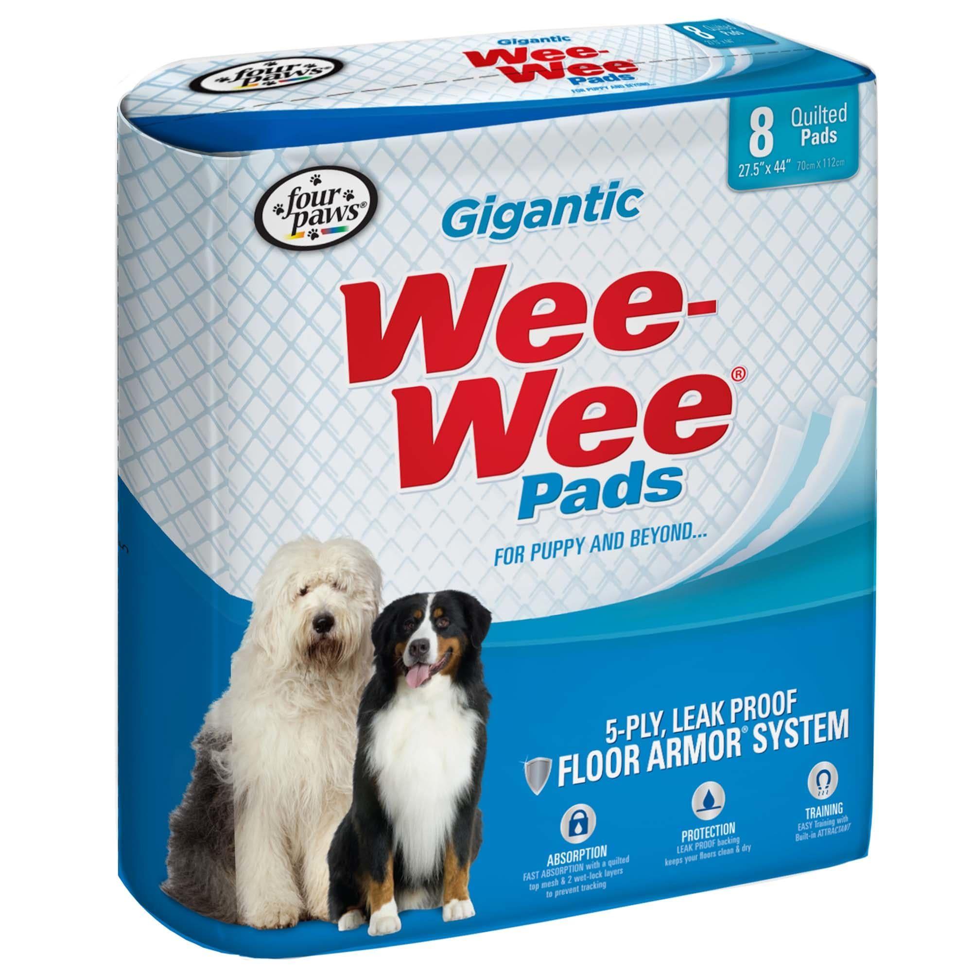 Wee Wee Pads Gigantic Puppy Housebreaking Pads 8 Ct In 2020