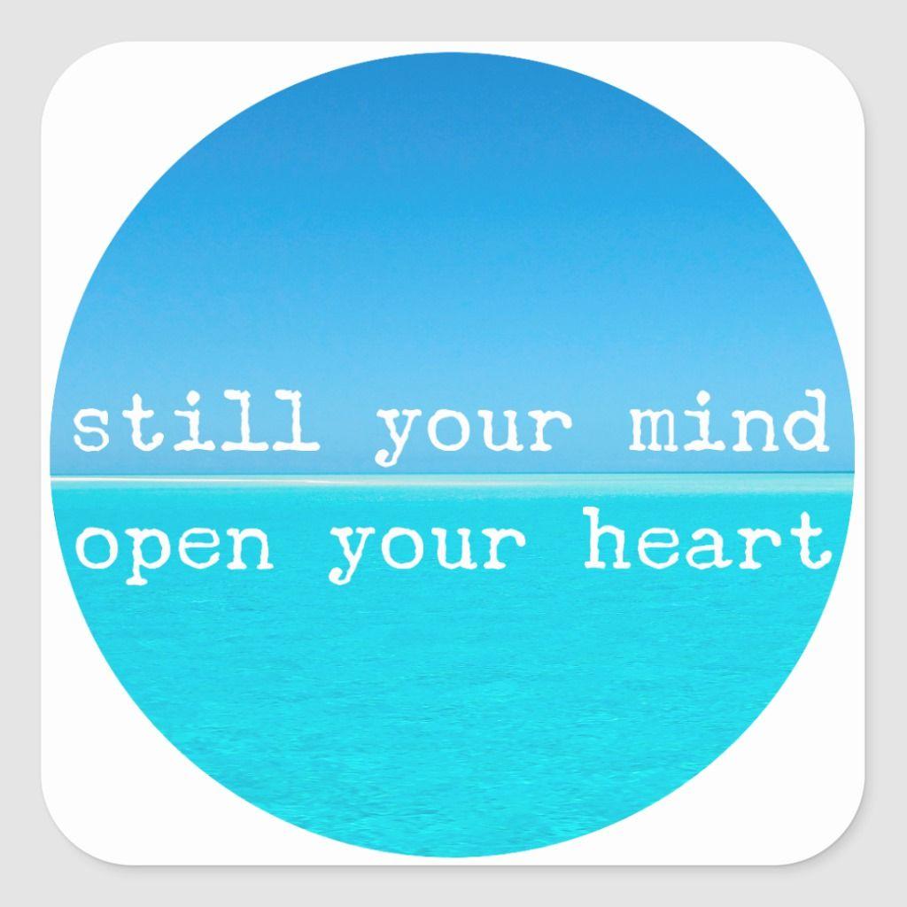 Inhale Exhale Relaxing Meditational Quote Square Sticker   Zazzle.com #inhaleexhaletattoo