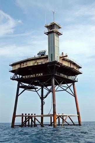 Frying Pan Shoals Lighthouse, North Carolina