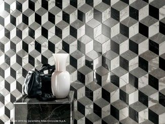 White-paste 3D Wall Panel MARVEL PRO WALL DESIGN | 3D Wall Panel - Atlas Concorde