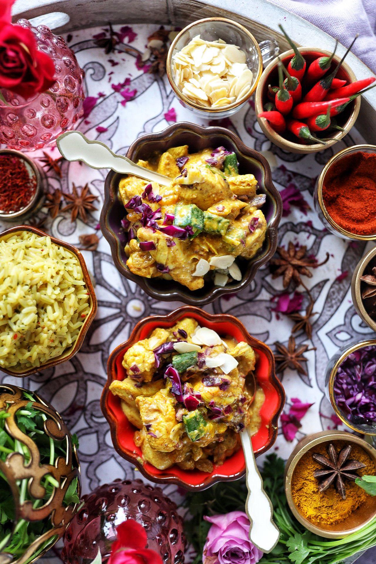 Patak S 3 Step Chicken Korma Medley With Almonds Golden Raisins Recipe Chicken Korma Korma Golden Raisins