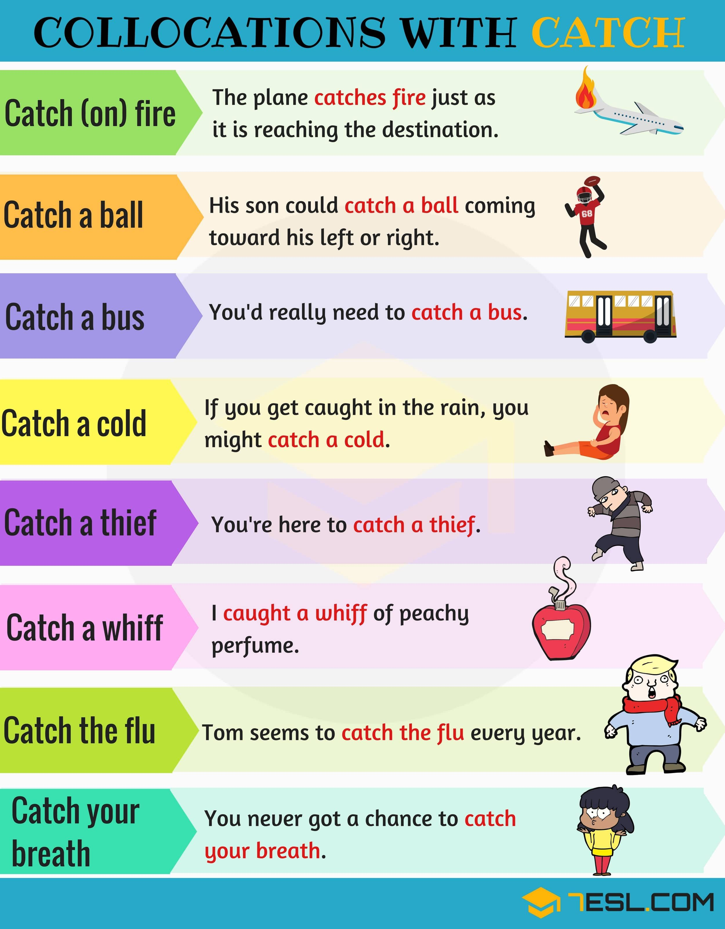 Expressions With Catch 14 Collocations With Catch
