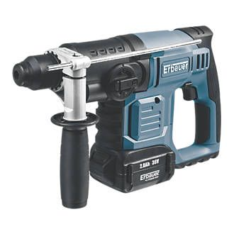 Erbauer Ert576sds 2 8kg 2 0ah Li Ion Cordless The Erbauer Ert576ds Cordless Sds Plus Drill Is A Versatile Tool With Hammer Chisel A Sds Drill Drill Cordless