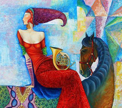 ZAYA - Mongolian artist | Art - Europe/Central & East Asia ...
