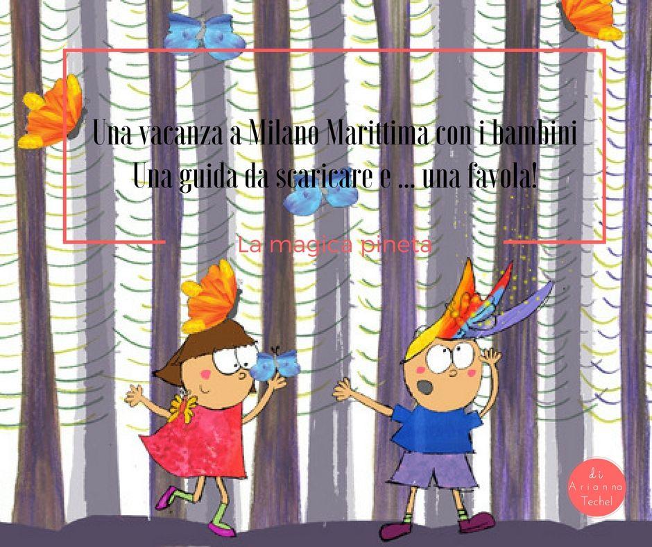 Vacanze a Milano Marittima con i bambini, una guida da scaricare e ... una favola