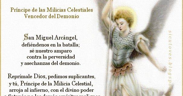 San Miguel Arcangel Su Corona Y Las Promesas A Sus Devotos