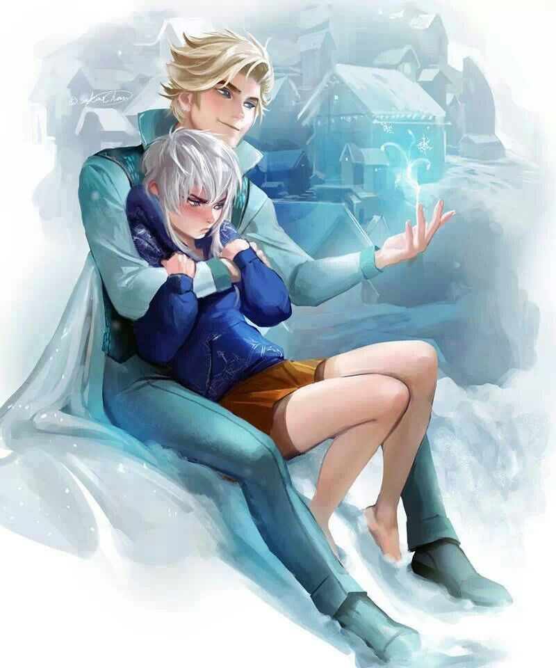 Elsa Frozen Male X Jack Frost Well That S A Wierd Twist With