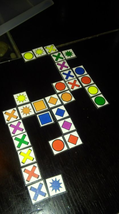 Free Printables for Qwirkle, Math Infinity Tiles