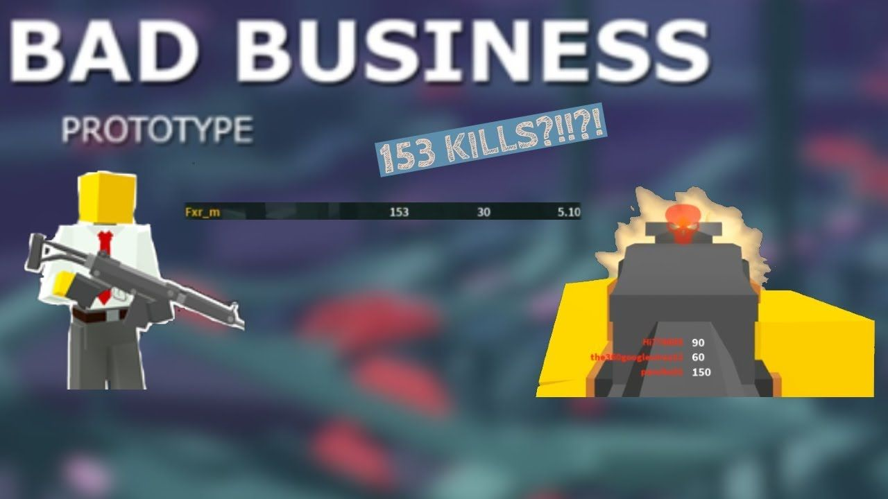 100 Sub Special 153 Kills On New Roblox Fps Game Bad Business