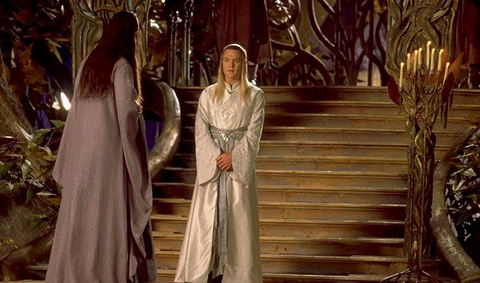 Elrond - Celeborn - cut scene - Lord of the Rings - Fellowship of the Ring - Hugo Weaving - Marton Csokas