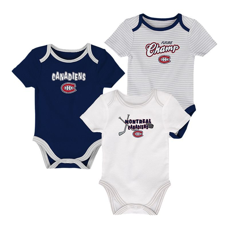 the latest 3dca5 bb61b Montreal Canadiens Infant 3rd Down Creeper Set - 3-Piece in ...