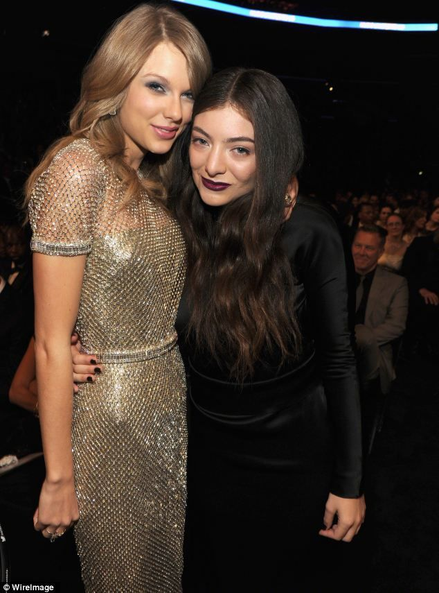 BFFs forever: The pair were inseparable at the 56th Grammy Awards at LA's Staples Center on January 26