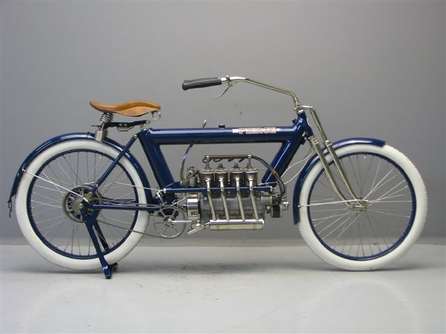 Loudpop Voyager 1911 Pierce Four Via Www Yesterdays Nl Classic Bikes Antique Motorcycles Scooter Motorcycle