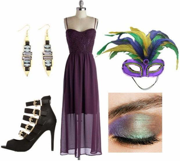 Mardi gras themed party what to wear