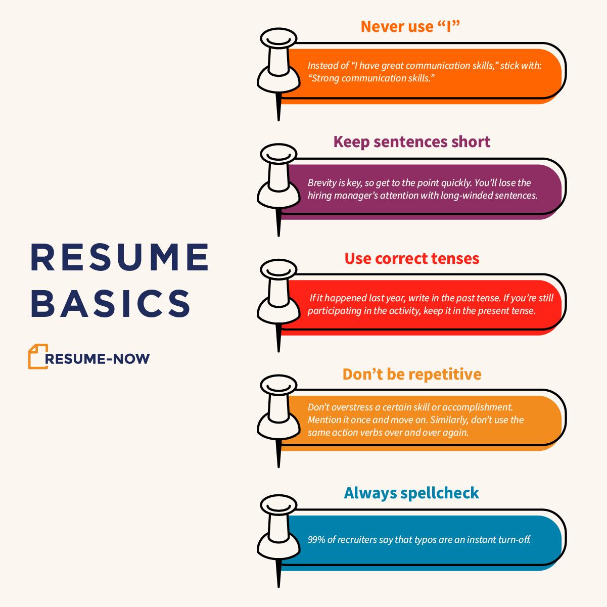 Resume basics Resume, Build a resume, Free resume builder