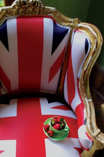 Union Flag Upholstered Chair