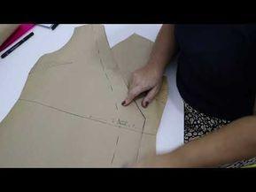 Vídeo da semana: como fazer molde de vestido envelope