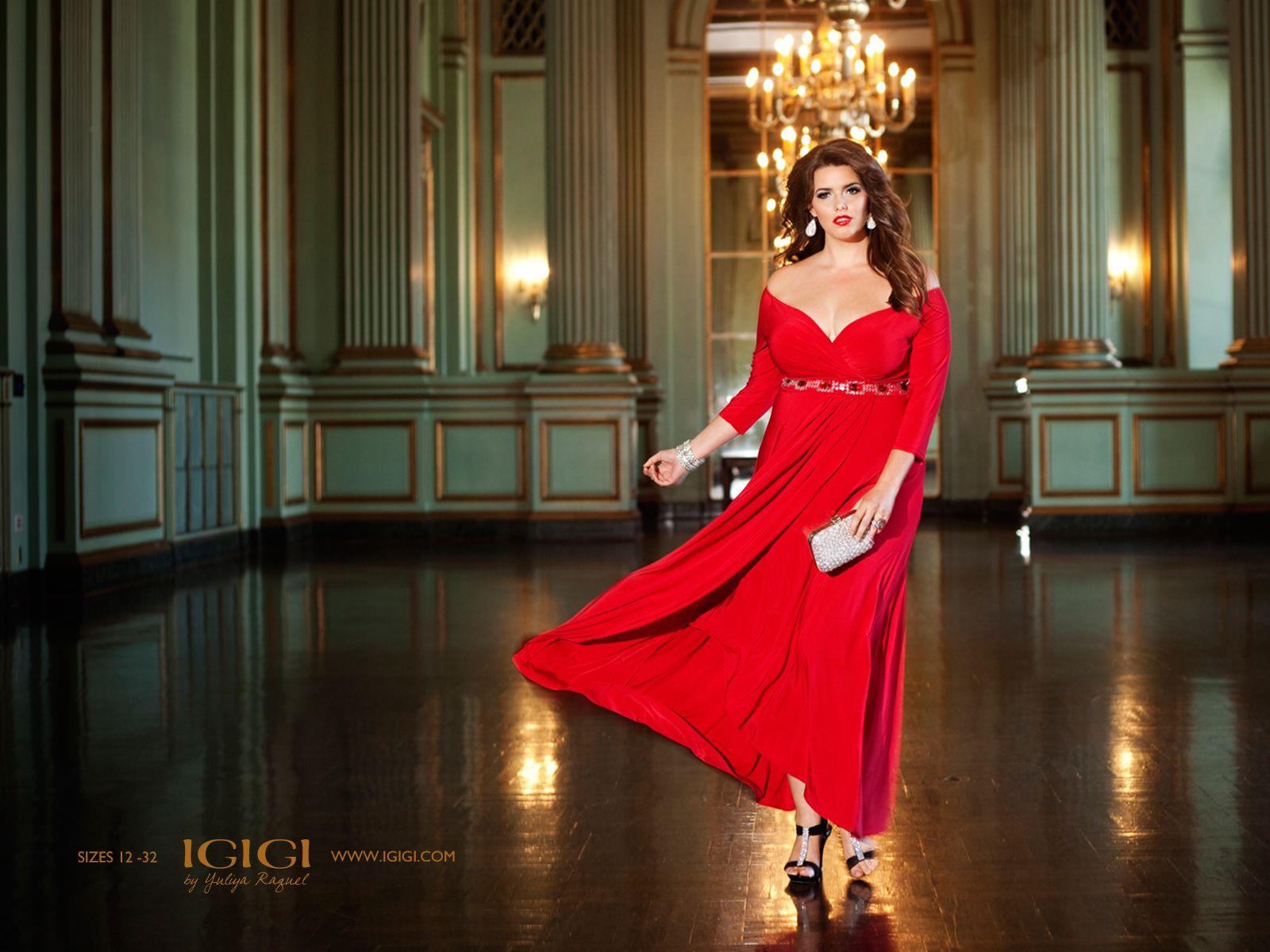 3cd26675c6b5 IGIGI by Yuliya Raquel's Nadine Jeweled Gown in Ruby. www.igigi.com ...