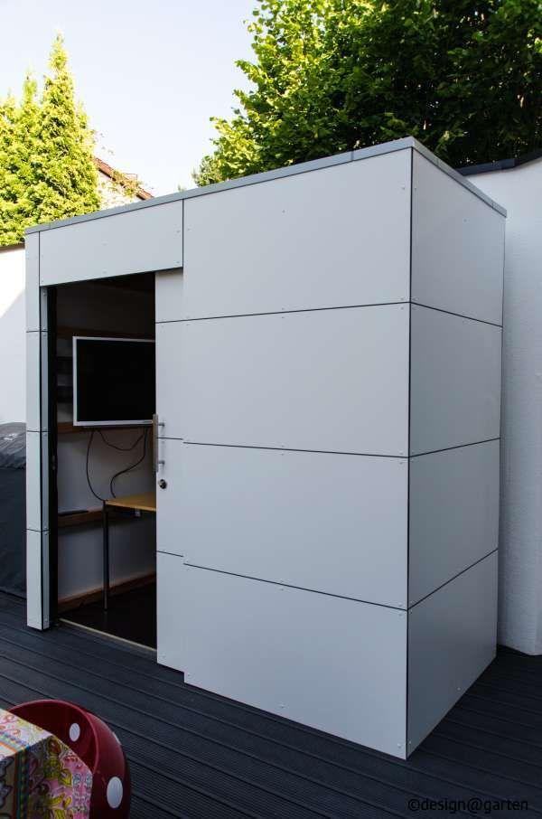 design gartenhaus gart eins by design garten heilbronn germany gartenhaus hpl. Black Bedroom Furniture Sets. Home Design Ideas