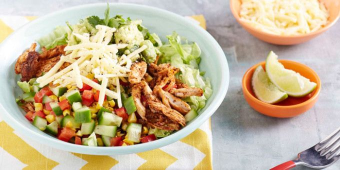 8WP3 Recipe - Chicken Burrito Bowl
