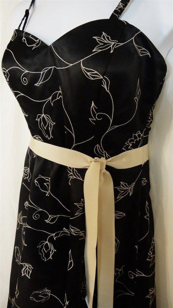 White house black market nwt floral kneelength dress resale