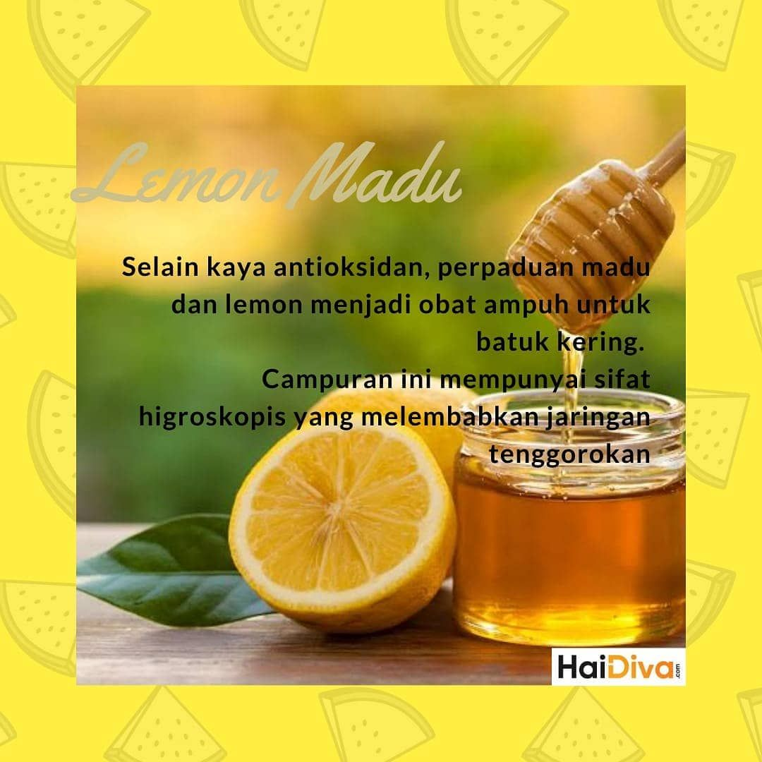 45++ Lemon dan madu untuk batuk ideas in 2021