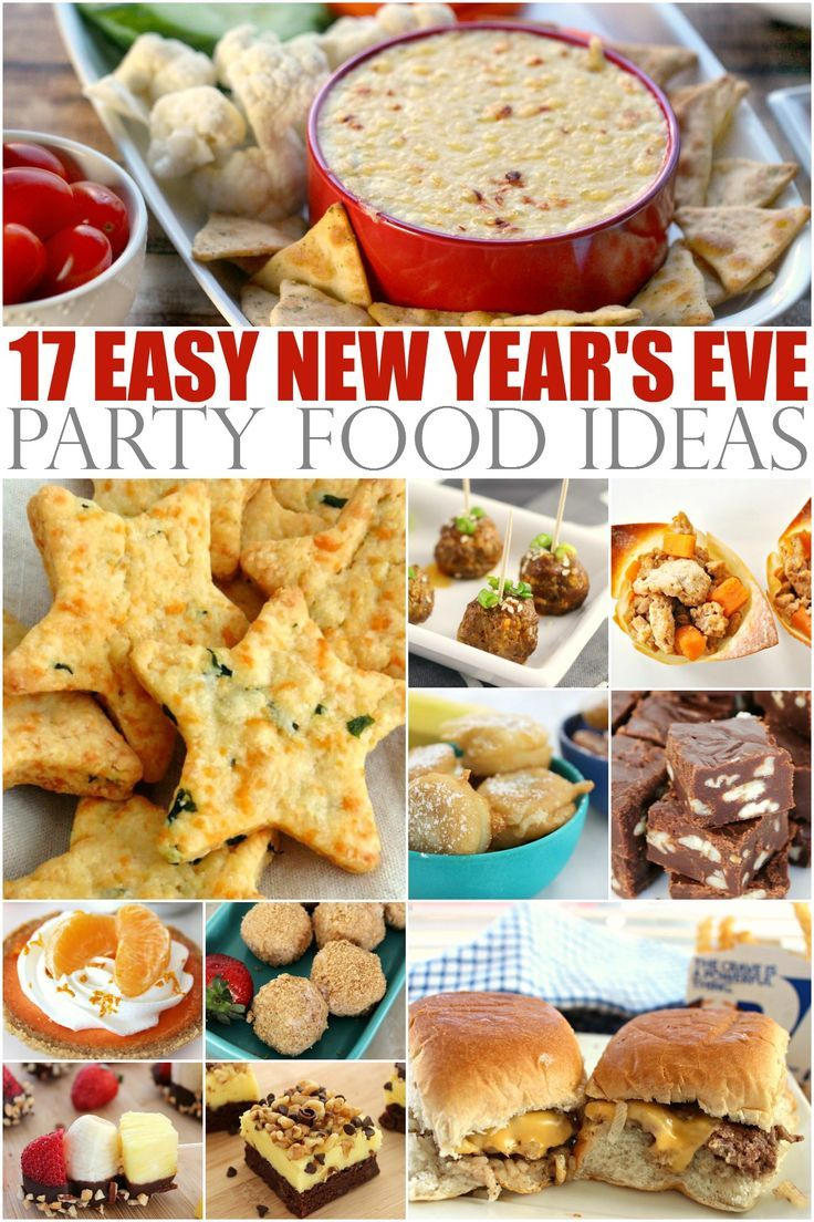 New Years Eve Dinner Party Ideas Part - 29: 17 Easy New Years Eve Party Food Ideas!